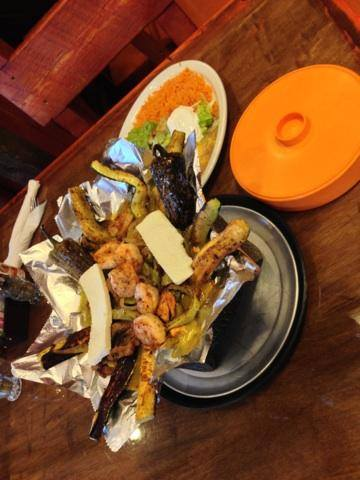 Shrimp Fajitas At Brodys Mexican Restaurant