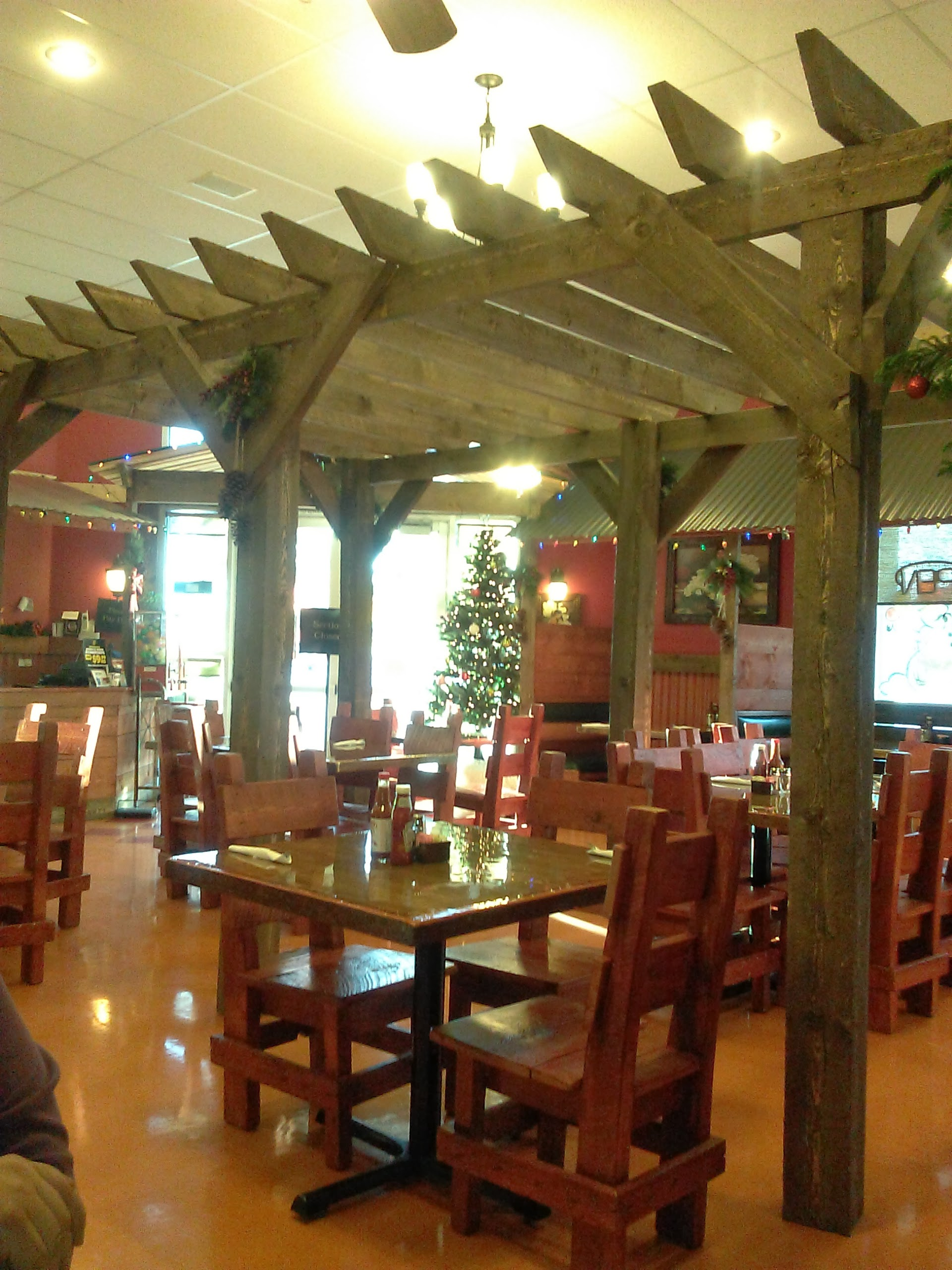Seating Room in Dining Area Of Brodys Mexican Restaurant