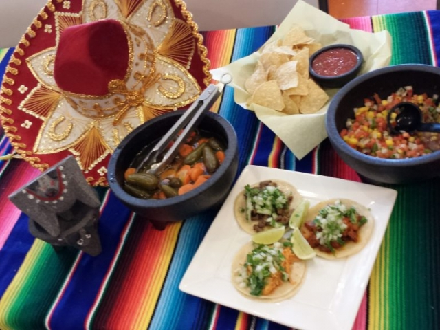 Taco Platter at Brodys Mexican Restaurant
