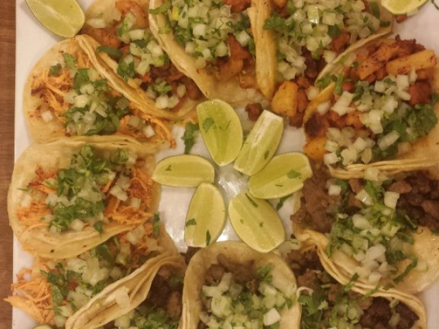 Large Taco Order At Brodys Mexican Restaurant