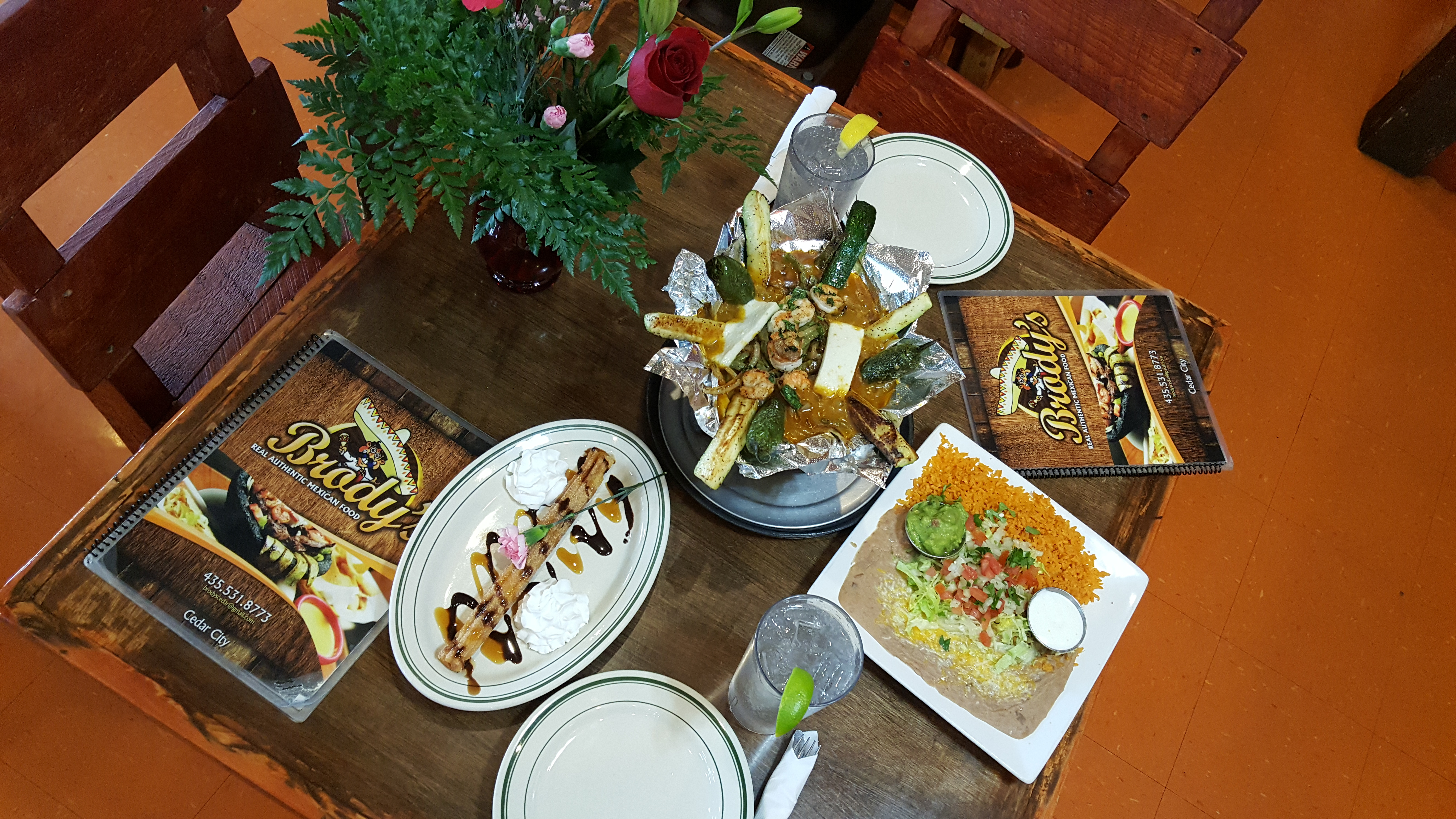 Meal Combo and Dessert at Brodys Mexican Restaurant