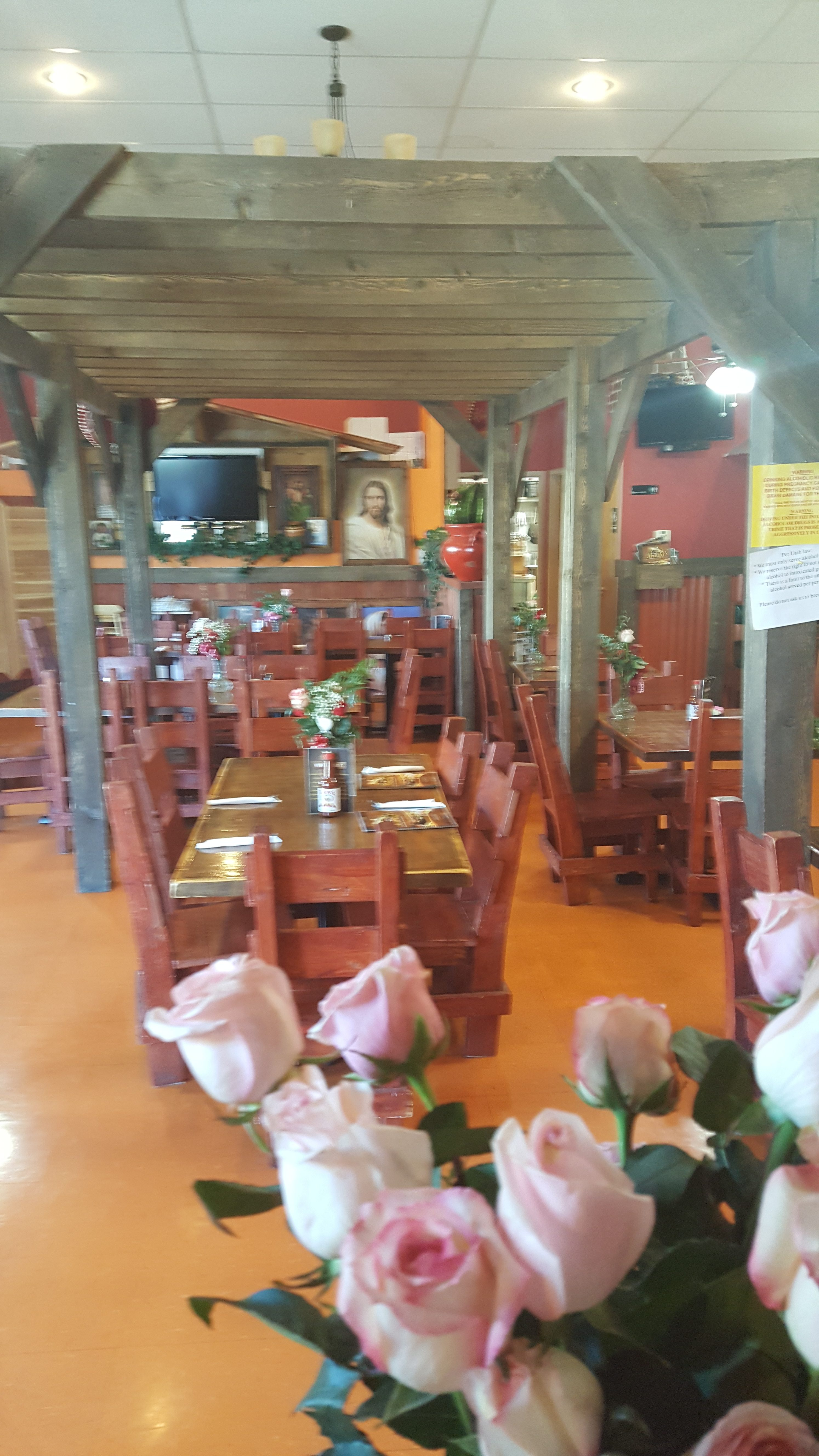 Brodys Mexican Restaurant Dining Room