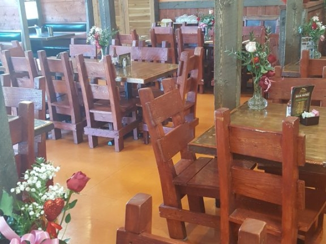 Seating at Brodys Mexican Restaurant