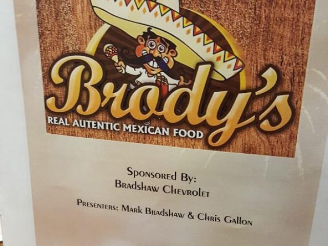 Brodys Sponsored By Bradshaw