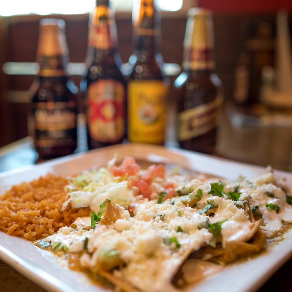 Beer and Mexican Food Platters at Brodys Mexican Restaurant