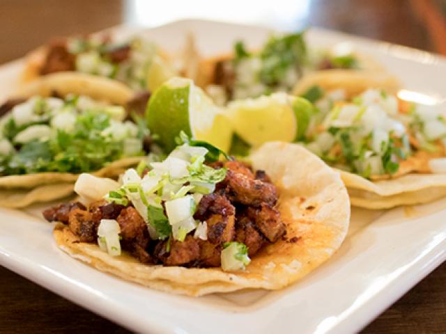 Pollo, Beef, Shrimp, Fish Tacos at Brodys Mexican Restaurant