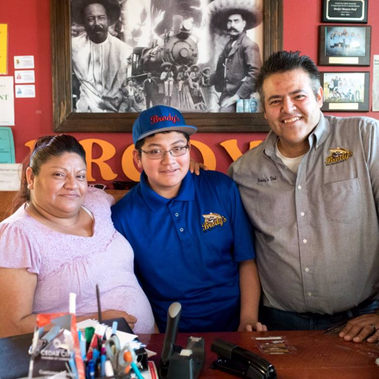 Staff at Brodys Mexican Restaurant