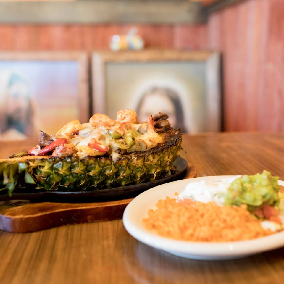 Pineapple Bowl at Brodys Mexican Restaurant