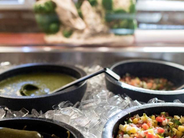 Salsa Bowls at Brodys Mexican Restaurant