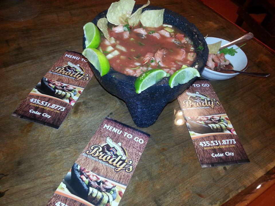 Shrimp Salsa at Brodys Mexican Restaurant