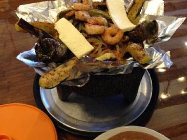 Shrimp at Brodys Mexican Restaurant