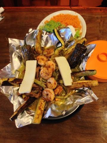 Shrimp Platter at Brodys Mexican Restaurant